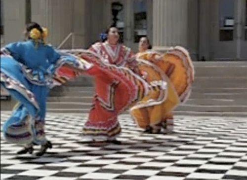 Latino Dancers © Larry Hamill