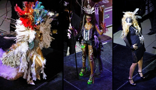The Costume Couture Fashion Showdown on Friday Night.