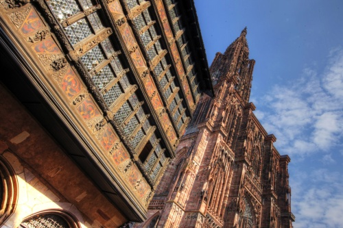 Strasbourg Cathederal & Medevil Building